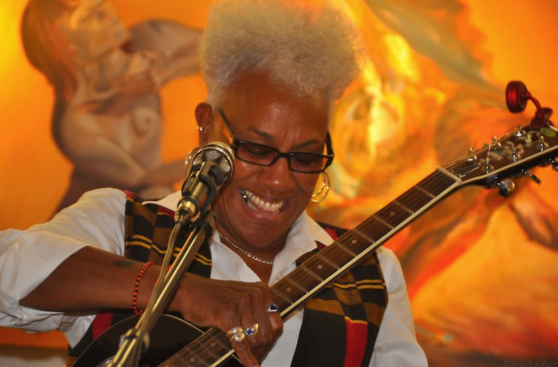 Gaye Adegbalola performs Thursday at AACLive! in Fort Smith
