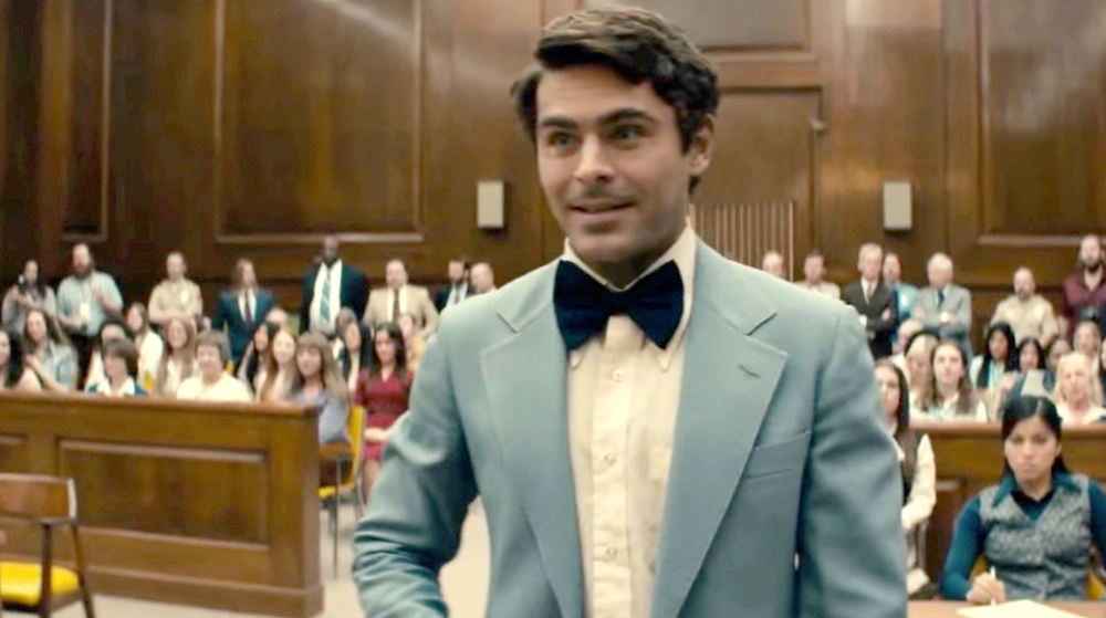 "Zac Efron portrays Ted Bundy in ""Extremely Wicked, Shockingly Evil and Vile."""