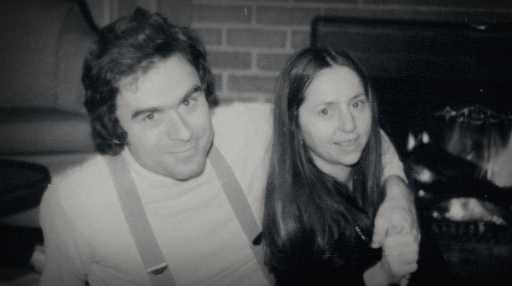 Ted Bundy, with his 1970s girlfriend Elizabeth Kloepfer