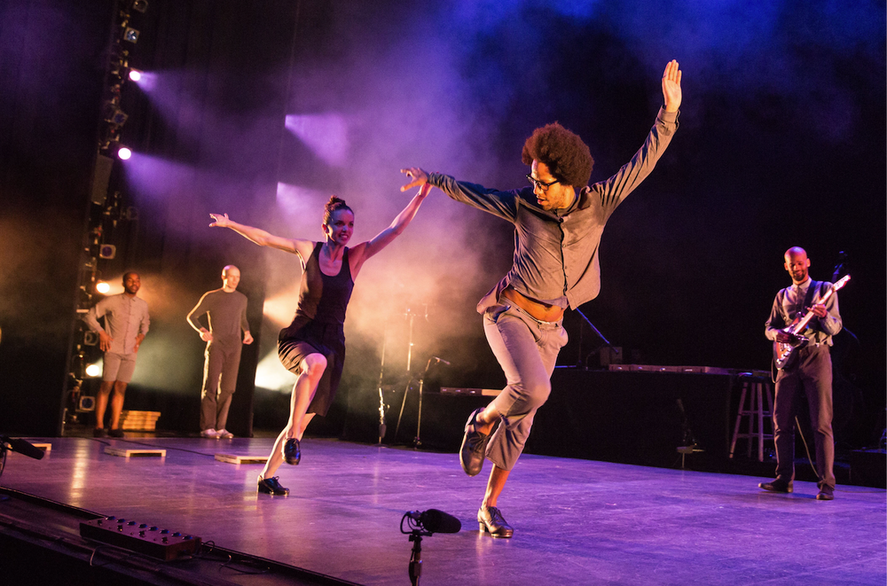 Dorrance Dance performs Tuesday at Fayetteville's Walton Arts Center.