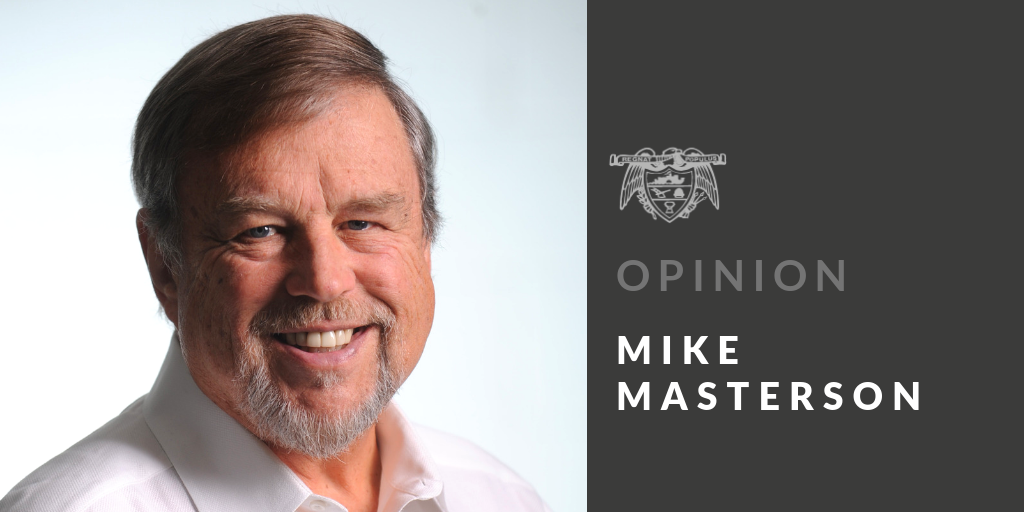 MIKE MASTERSON: A son's gift