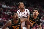 Image from Arkansas 72-60 win over Missouri Wednesday Jan. 23, 2019 at Bud Walton Arena in Fayetteville.