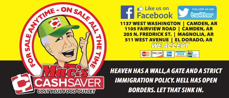 Grocery ad sent to Arkansas stores says 'Heaven has a wall'