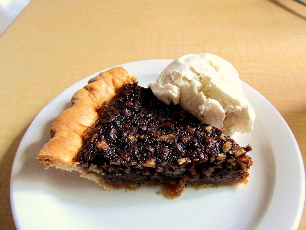 Black Walnut Pie from chef Janet Morgan at Arkansas House in Jasper Courtesy of Kat Robinson