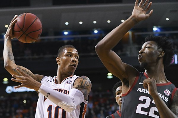 Wholehogsports Brown Auburn Shoot Past Razorbacks