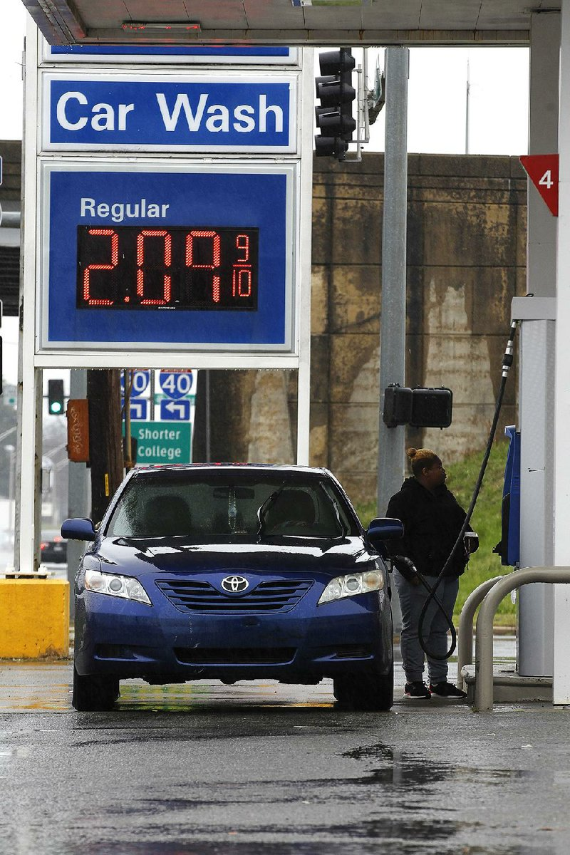 Gasoline Prices U0026 39  Rise In Arkansas  Nationally Tied To Oil