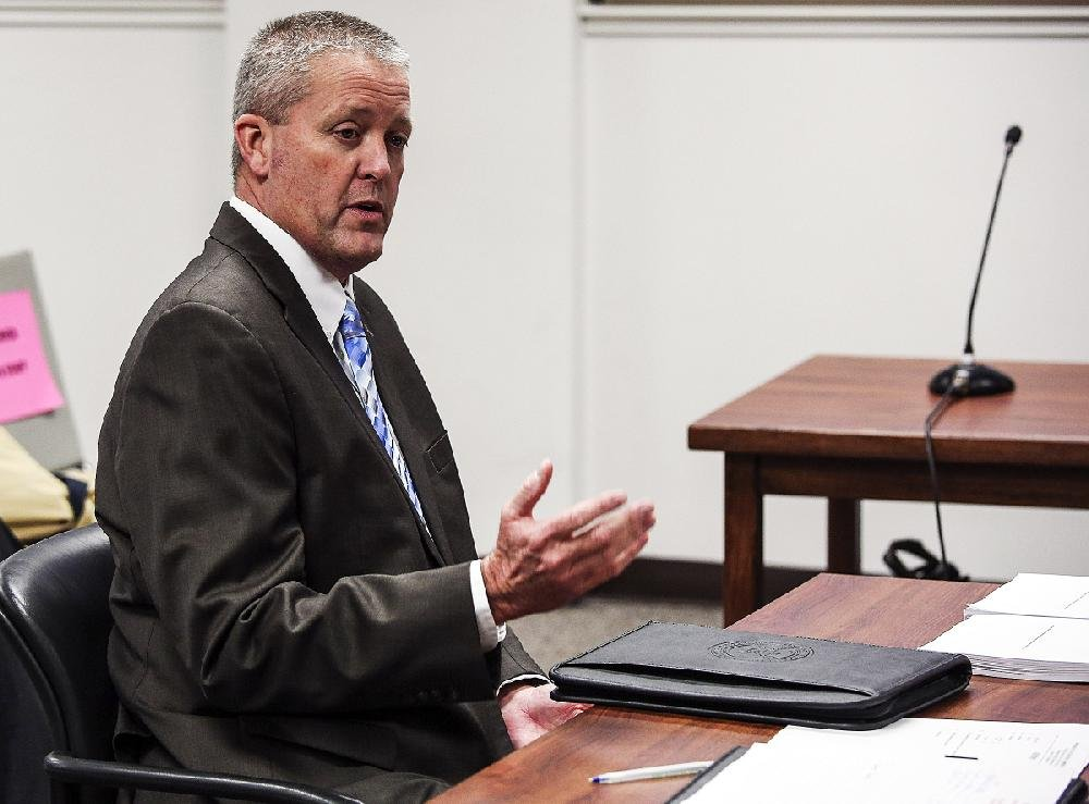 """Pope County's County Judge Ben Cross said Thursday that he supports the Racing Commission's rule on officials' endorsement of gambling license applications. """"At the center of this issue is the local option. The local option, as described to me, is my office. And that will be upheld by the will of the people,"""" Cross said."""