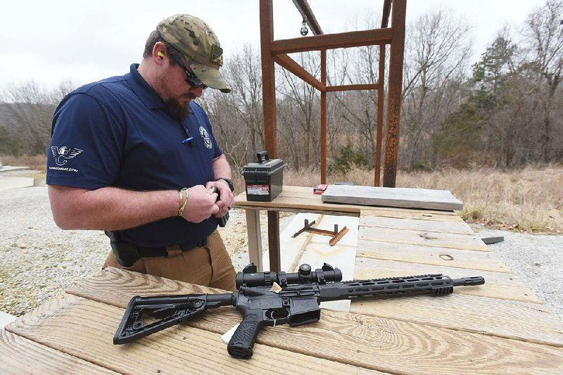 bd7f00d8952 Arkansas gun-maker targeting off-the-shelf customers with AR-15-style rifles