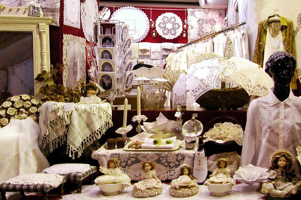 Handmade lace in Belgium can be pricey, but it's a characteristic, packable souvenir.