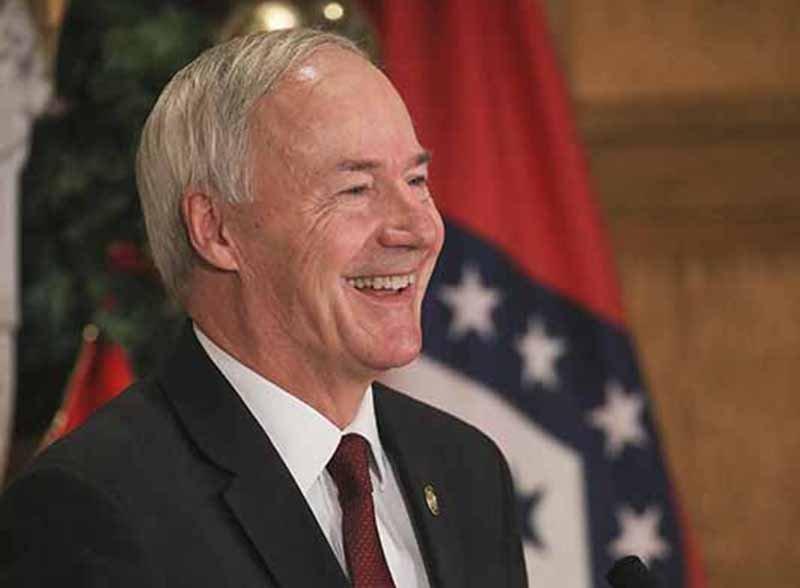 Arkansas Democrat-Gazette/BENJAMIN KRAIN - Gov. Asa Hutchinson