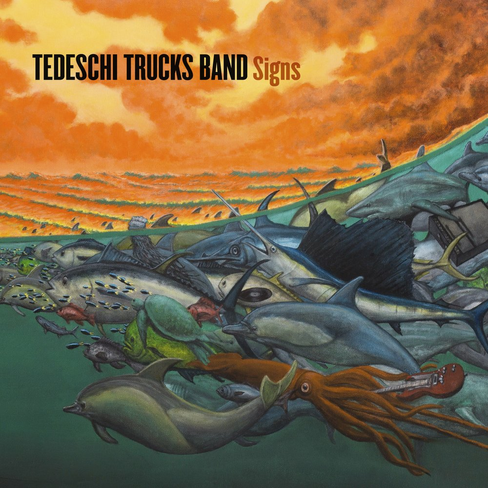"""This image shows the cover of """"Signs,"""" the latest release by Tedeschi Trucks Band. Courtesy of Fantasy Records/Concord via AP"""