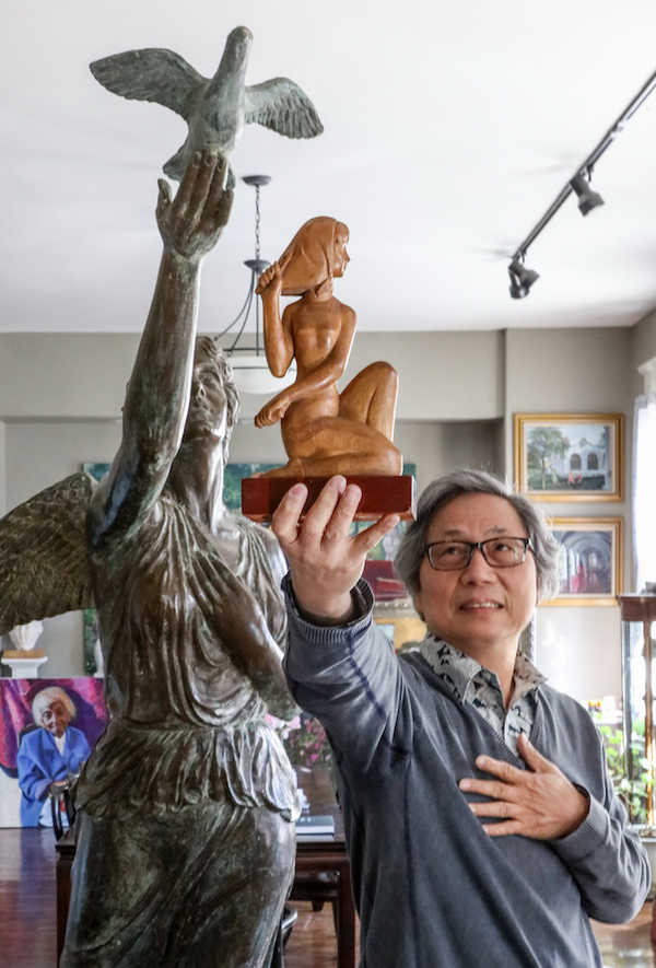 Relished recognition: Hot Springs artist and Shanghai expat Longhua Xu is Arkansas' 2019 Living Treasure