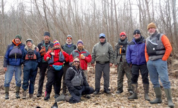 Winter trip a tradition on Buffalo River