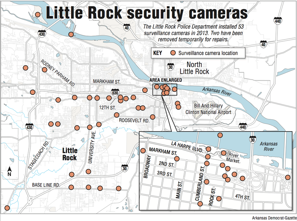 High-tech devices help police in Little Rock, but some say