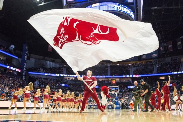 Arkansas vs Florida Thursday, March 14, 2019, during the second round game in the SEC Tournament at Bridgestone Arena in Nashville.