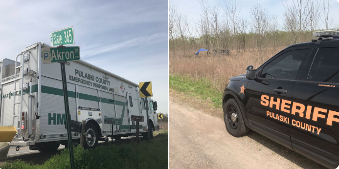 1 killed, 1 hurt in central Arkansas highway crash