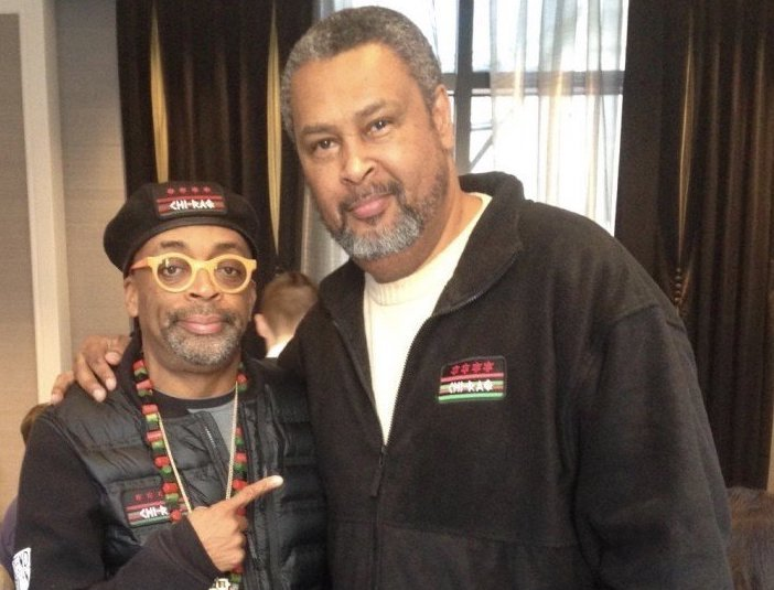 Kevin Willmott, one of four writers — including director Spike Lee (left) — of the Oscar-wining screenplay for BlacKkKlansman, is in residence Monday at the University of Central Arkansas in Conway.