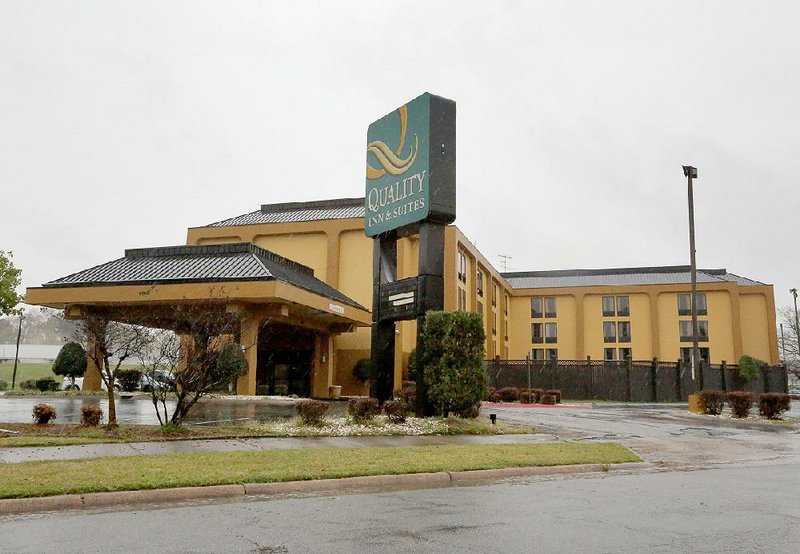 Little Rock hotel ignored sex trafficking, suit says