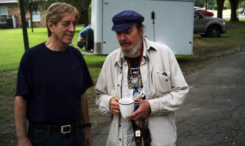 Gerry McGee (left) and Dr. John appear in the documentary Sushi and Sauce Piquante: The Life and Music of Gerry McGee.(Photo courtesy Ozark Foothills FilmFest)