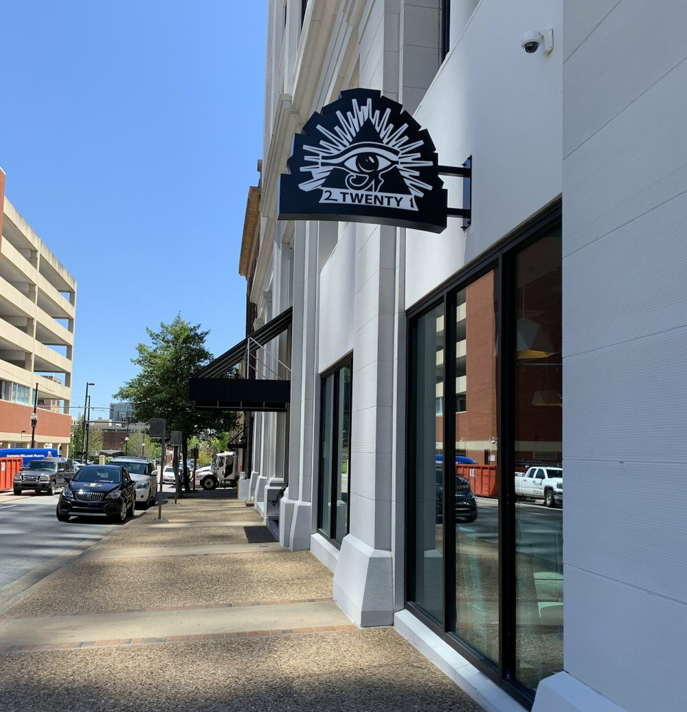 2 Twenty 1, an upscale coffee shop, has opened in the Pyramid Building, 221 W. Second St., Little Rock. 