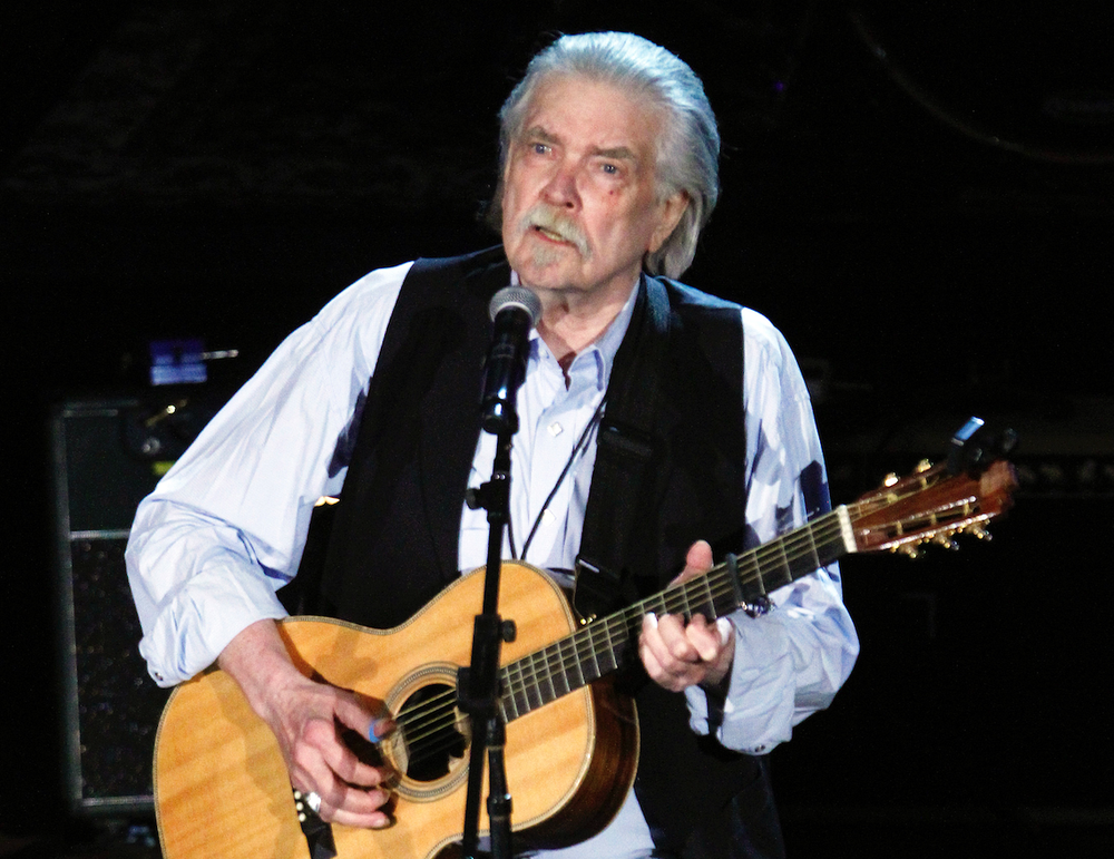 """Guy Clark performs at a 2012 concert in Nashville, Tenn. Clark died in 2016. Among his songs are """"L.A. Freeway"""" and """"Desperados Waiting for a Train."""" (AP photo)"""