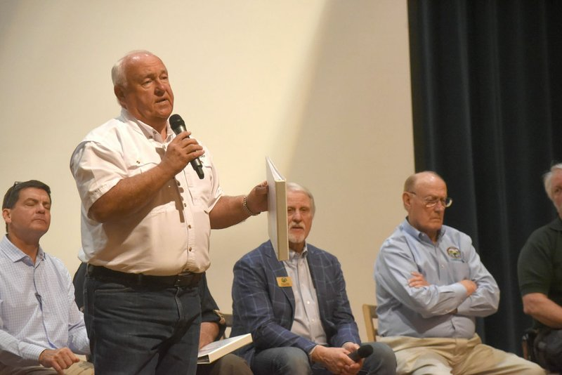 Game, Fish staff hears questions at town hall in Springdale