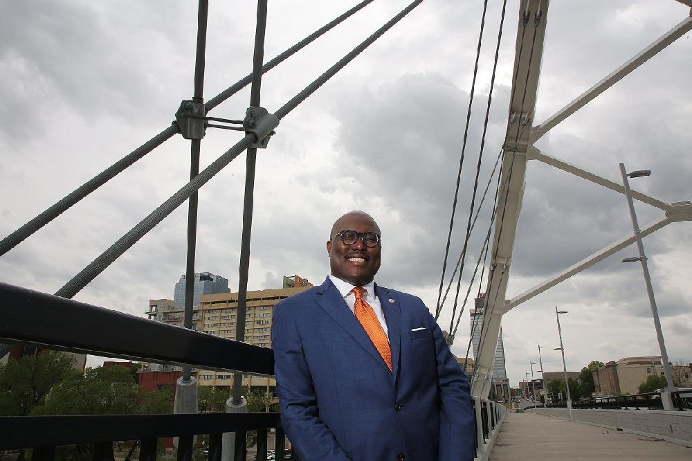 """""""I didn't want to go another election cycle where we didn't at least have a voice of the voiceless being heard. One of the things I love to say is the voices of the voiceless will eventually be heard loud and clear."""" - Frank D. Scott Jr."""