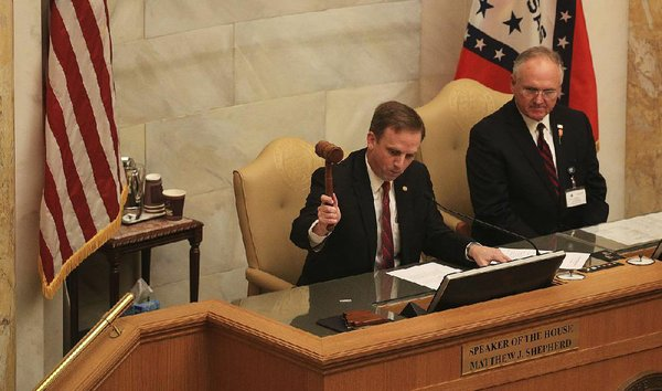 Legislative session ends with 1 last bill