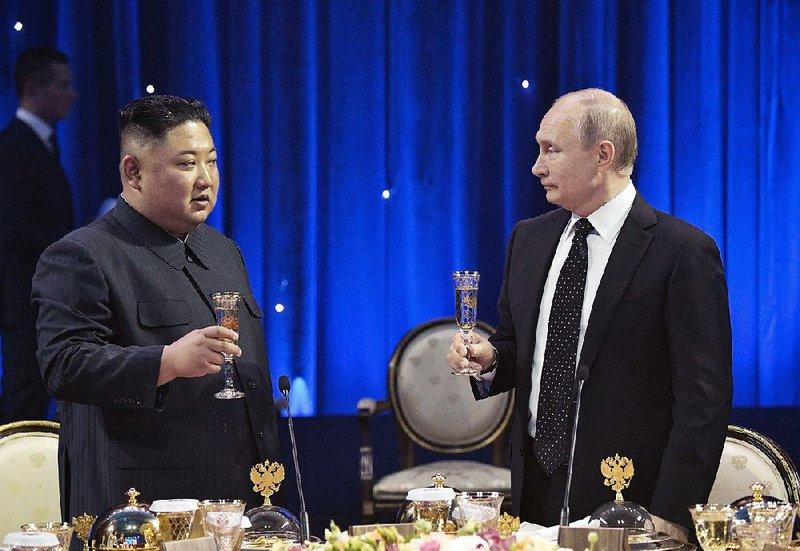 img KIM JONG-UN and Putin Meeting in Vladivostock