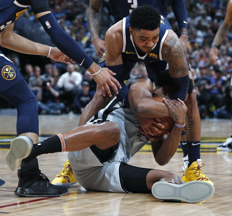 Nuggets beat Spurs in Game 7