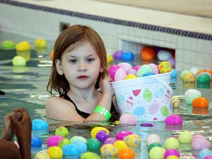 Underwater Easter Egg Hunt, Benton