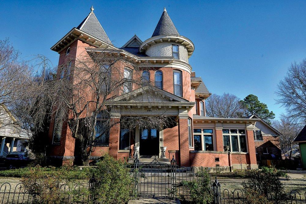 The Holtzman-Vinsonhaler House at 500 E. 9th Street is part of Quapaw Quarter Association's Spring Tour of Homes