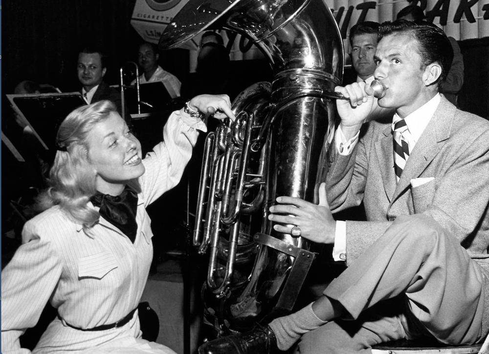Doris Day and Frank Sinatra in an undated publicity photo (Zuma Press/TNS)