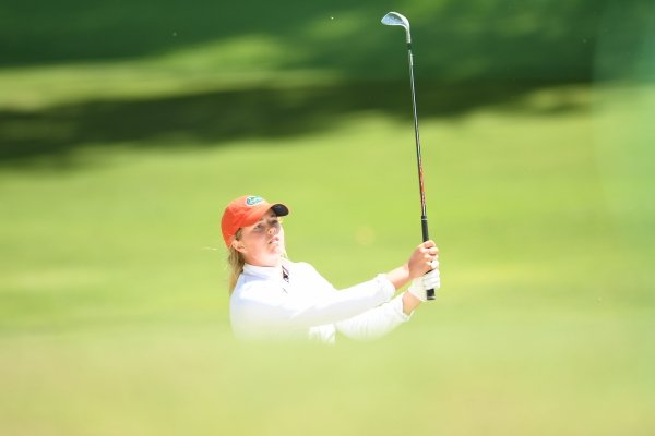 Image from Sunday May 19, 2019 during the NCAA Women's Championship at the Blessings Golf Club in Fayetteville.
