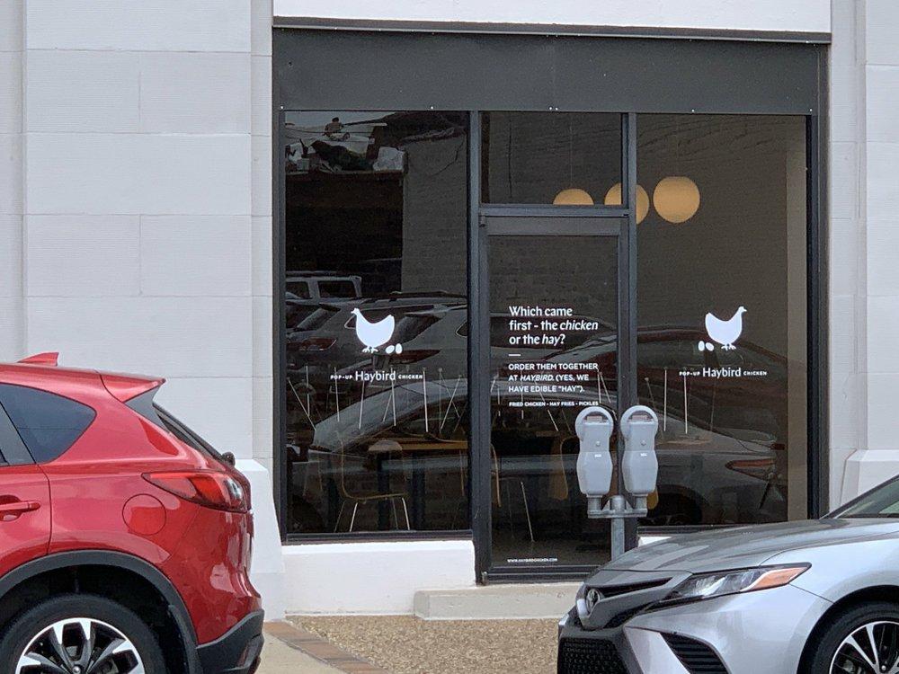 Haybird Chicken, a pop-up Asian fried chicken shop run by the owners of Three Fold, opens next week at 215 Center St. in Little Rock — Three Fold's original location. Arkansas Democrat-Gazette/Eric E. Harrison