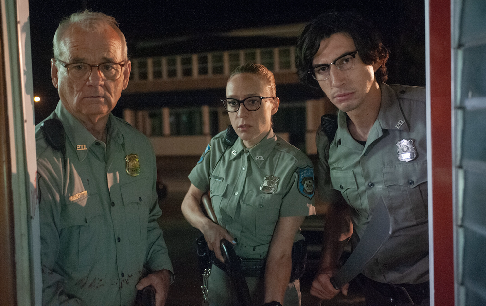 """Bill Murray (from left), Chloe Sevigny and Adam Driver star in Jim Jarmusch's """"The Dead Don't Die."""" (Focus Features)"""