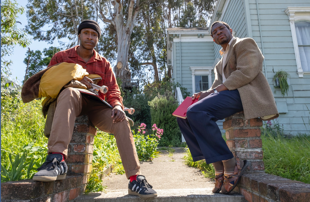 """Jimmie Fails (left) and Jonathan Majors from """"The Last Black Man in San Francisco."""" (AP)"""