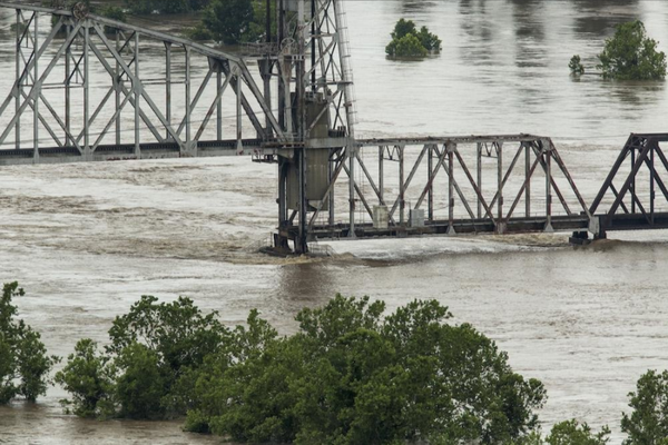 Levee Overtopped In Yell County; Others In Western Part Of