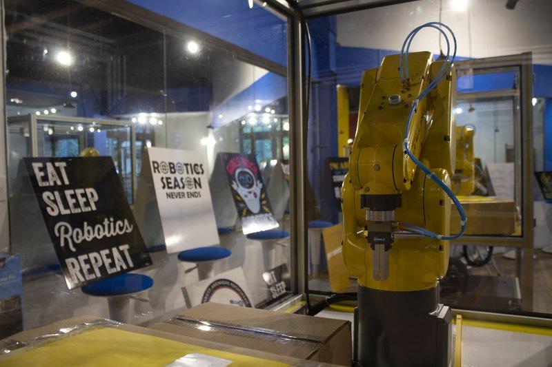 Robotics training center set to open