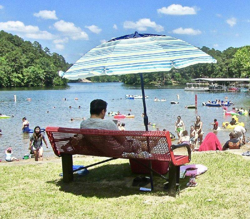 Arkansas Swimming Holes Await Ten State Parks Offer Beaches