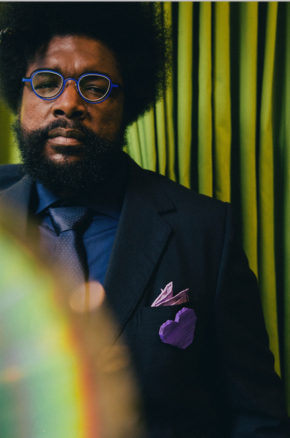 Questlove, drummer of the Roots, is a collector of Prince bootlegs. (The New York Times/Driely Schwartz Vieira)