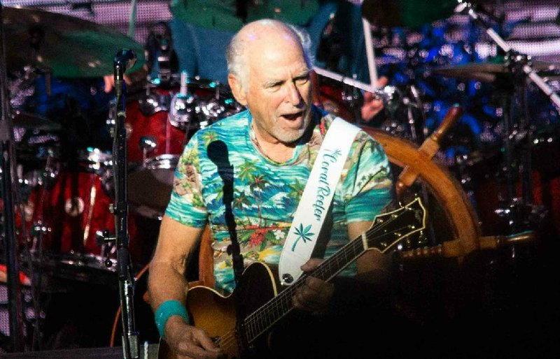 CONCERT REVIEW + PHOTOS: Crowd loves Jimmy Buffett at North Little