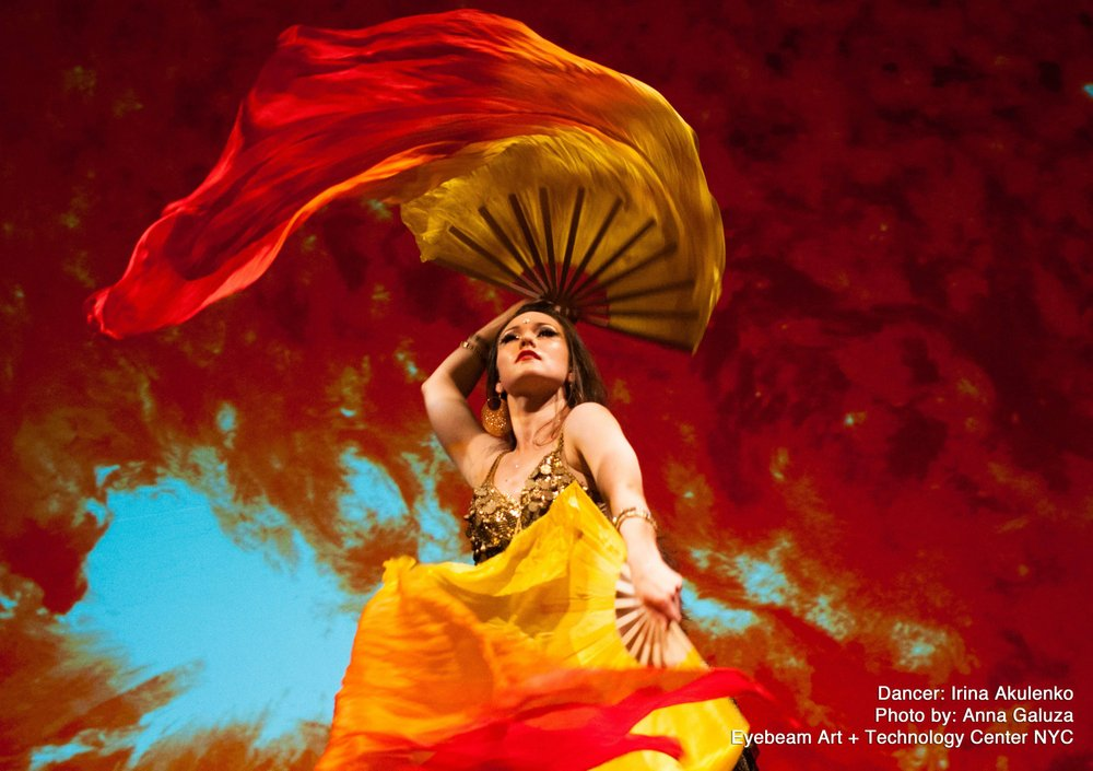 Bella Gaia (Beautiful Earth) combines NASA satellite imagery of Earth, time-lapse nature photography, music and dance Thursday, at Fayetteville's Walton Arts Center, part of the annual Artosphere Festival.