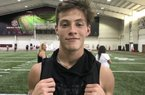 2020 WR Hayden Metcalf has a chance to attend his dream school and join his sister in Fayetteville after earning a preferred walkon offer from Arkansas.