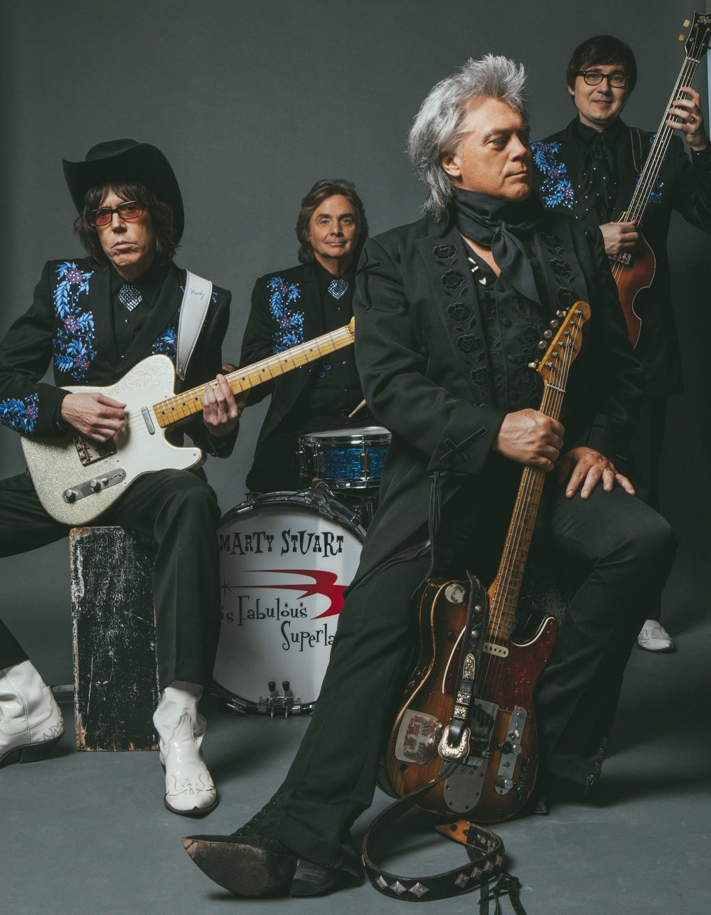 Marty Stuart and his Fabulous Superlatives. Special to the Democrat-Gazette