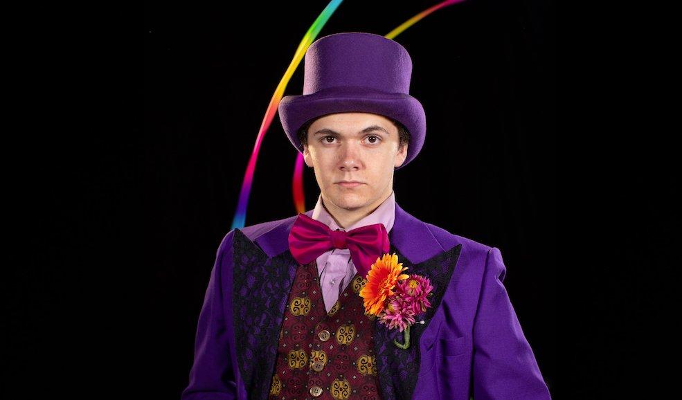 Will Porter as Willy Wonka (CHRIS CRANFORD)
