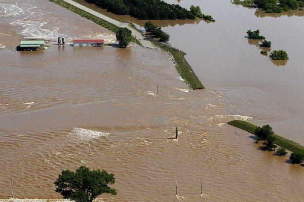 Some flood-hit parks along Arkansas River still closed