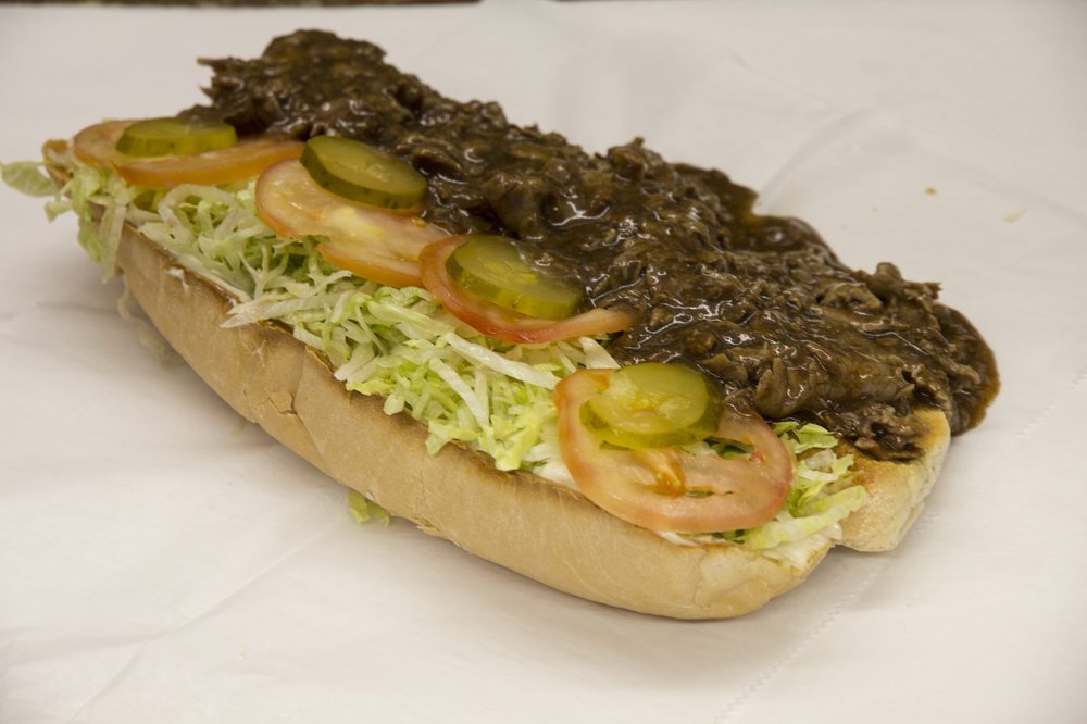 Beef may not be typical in Cajun country, but the beef poboy from Harry's Poboy in Larose, La., is top-notch. Photo by Dave G. Houser via TNS