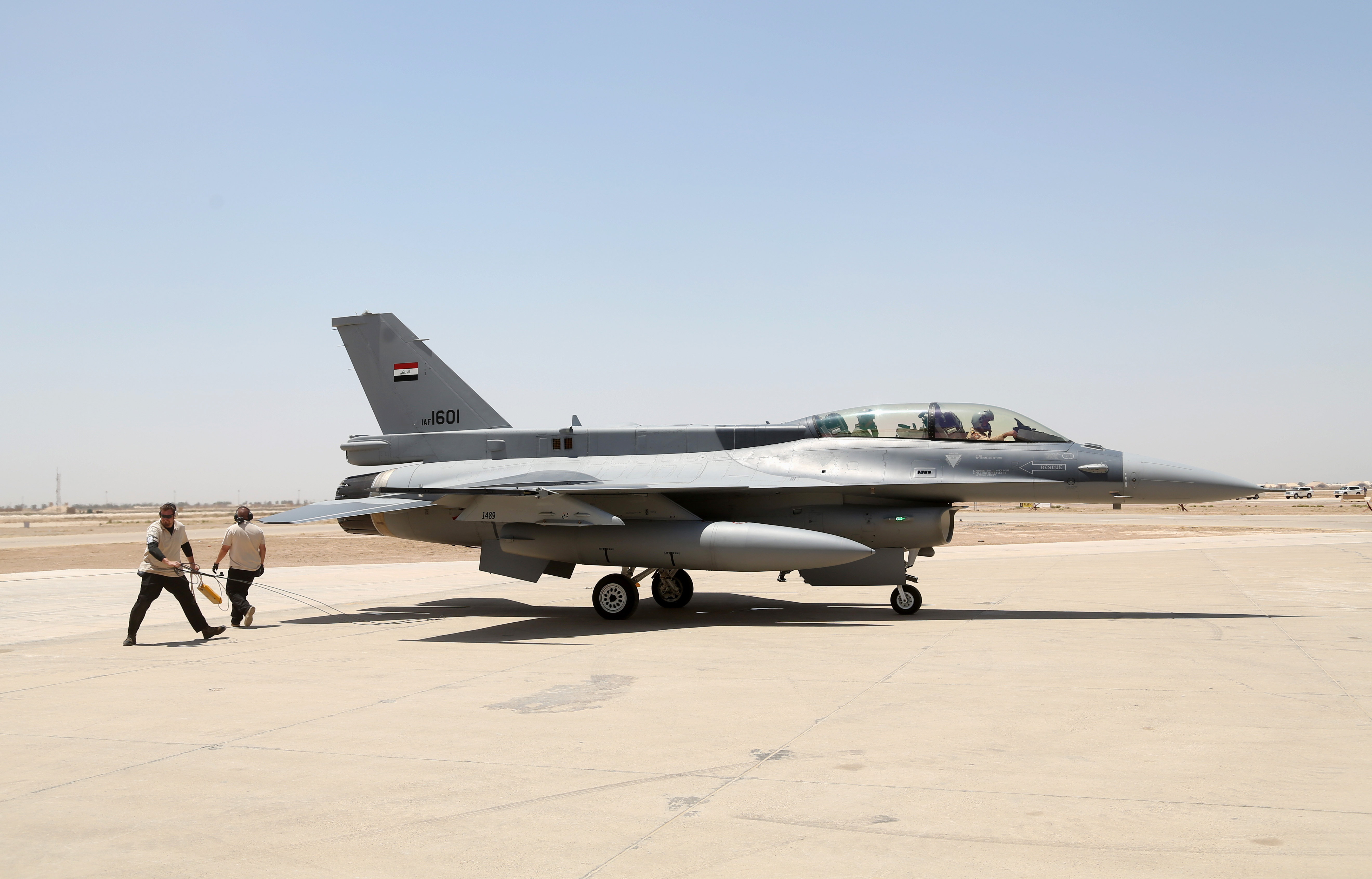 Iraqi air base boosts security measures