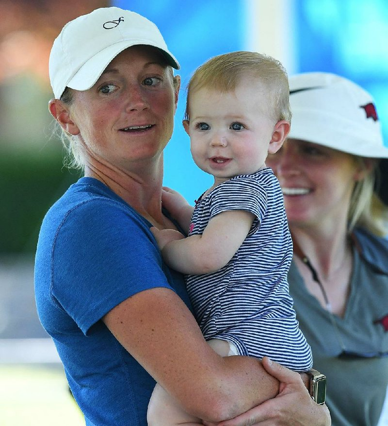 New mom Stacy Lewis has company on tour